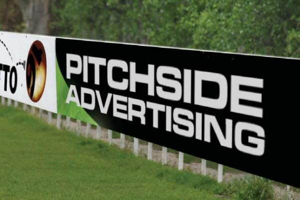 Image result for Advertising board pitchside